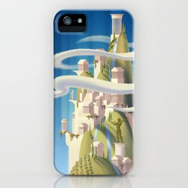 Mythical Places - Mount Olympus iPhone Case