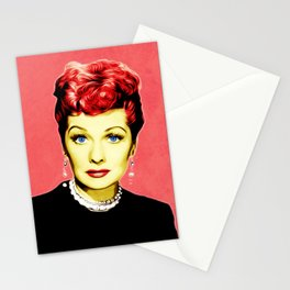 Lucille Ball - Lucy - Pop Art Stationery Cards