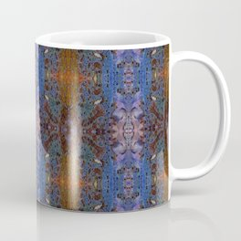 ink blot and smudge print lacey damask pattern Coffee Mug
