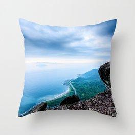 Seascape Perfection Throw Pillow