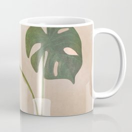 A Couple of Monstera Leaves Coffee Mug