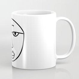 Sad Man's Face Coffee Mug