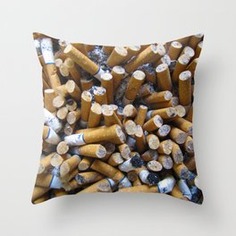 Ashes to Ashes Throw Pillow