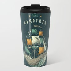 Whale   Petrol Grey Travel Mug