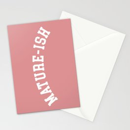 Mature-ish Funny Quote Stationery Cards