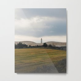 The Lonely Lighthouse Metal Print