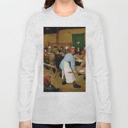Peasant Wedding Bruegel Long Sleeve T-shirt