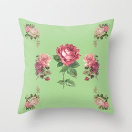 Pocket full of Roses Throw Pillow