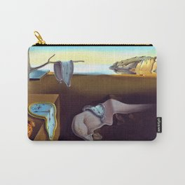 Salvador Dali The Persistence of Memory 1931 Artwork, Wall Art, Prints, Posters, Tshirts, Men, Women Carry-All Pouch
