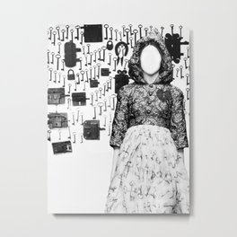 The Keymaker's Bride Metal Print