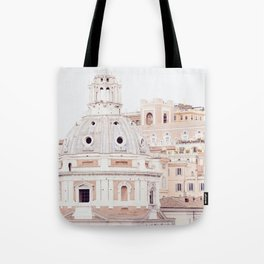 Pale Rome Tote Bag
