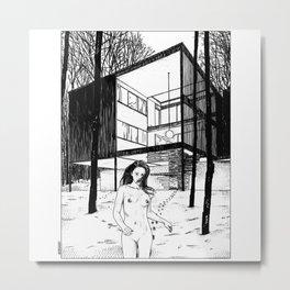 asc 386 - Le bain nordique (The cold dip) Metal Print
