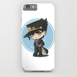 Chibi Jotaro iPhone Case