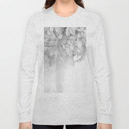 Hydrangea Still Life in Black and White #decor #society6 #buyart Long Sleeve T-shirt