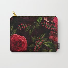 Vintage & Shabby Chic - Vintage & Shabby Chic - Mystical Night Roses Carry-All Pouch