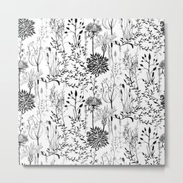 natur beauty in black/white Metal Print