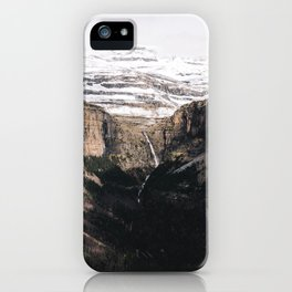 Spanish Pyrenees iPhone Case
