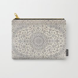 Bohemian Farmhouse Traditional Moroccan Art Style Texture Carry-All Pouch