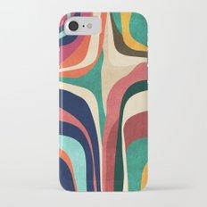 Impossible contour map iPhone 7 Slim Case