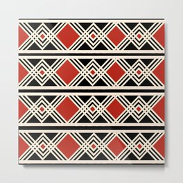 Geometric pattern1 Metal Print