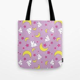 Moon Rabbits Tote Bag