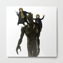 Groot...ent Metal Print
