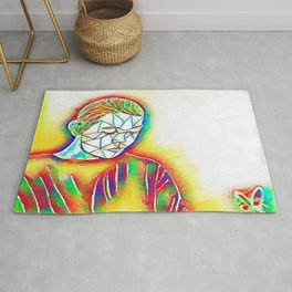 Colorful Sadness Rug