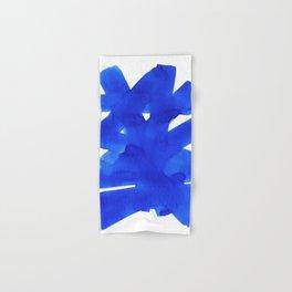 Superwatercolor Blue Hand & Bath Towel