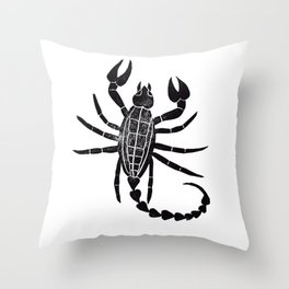 Scorpion Throw Pillow