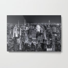 New York City Skyline IV Metal Print