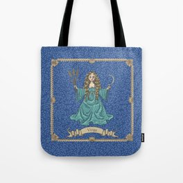 Vintage Astrology - Virgo Tote Bag