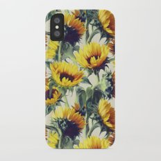 Sunflowers Forever iPhone X Slim Case