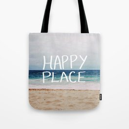 My Happy Place (Beach) Tote Bag