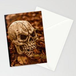 Halloween Skull 2 Stationery Cards