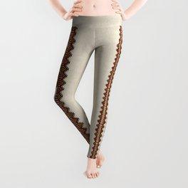 Ukrainian embroidery Leggings