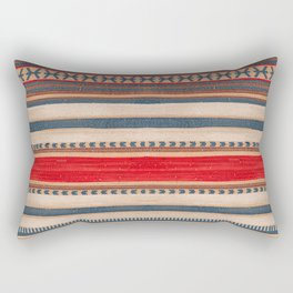 Bohemian Traditional Moroccan Style Artwork Rectangular Pillow