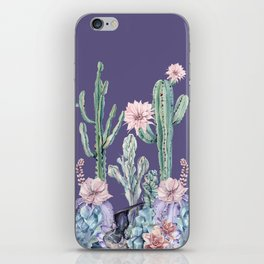 Desert Gemstone Oasis Purple iPhone Skin