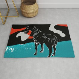 I am not your white horse Rug