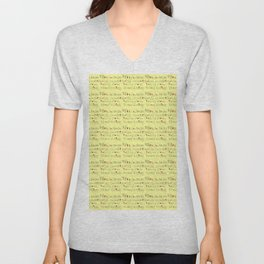 Rock and stars-pop,music,guitar,rock and rool,rock band, rock group Unisex V-Neck