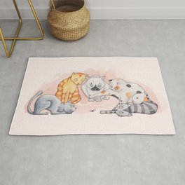 Cats Playtime Rug