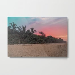 Sunset in Palomino Metal Print