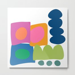 Shapes and Colors 39 Metal Print
