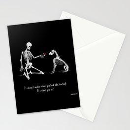 Skeleton Art - Darling Stationery Cards
