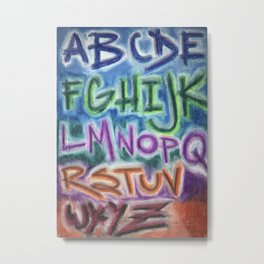 AB-Z Metal Print