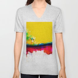 Color Song C5 by Kathy Morton Stanion Unisex V-Neck