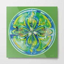 Mandalas of Healing and Awakening 6 Metal Print