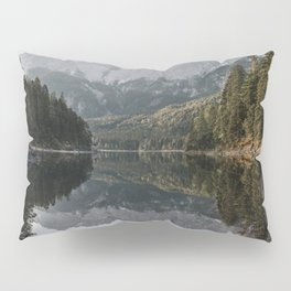 Lake View - Landscape and Nature Photography Pillow Sham