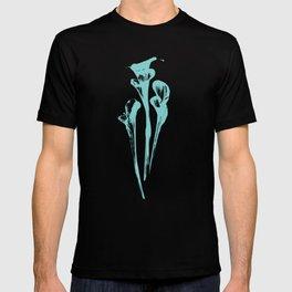 Calla Lily - Aqua T-shirt