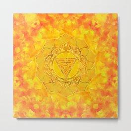Solar plexus chakra - Manipura Metal Print