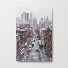 NYC Winter Metal Print